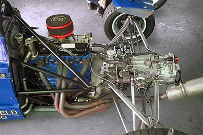 A Bold Formula Ford Engine